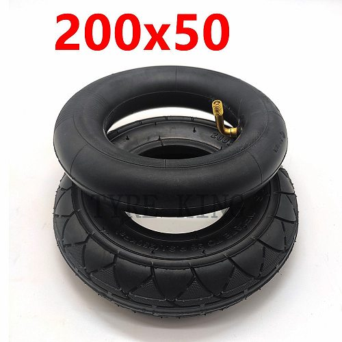 High Quality 200x50  Inner Outer Tire 8 Inch Mini Electric Scooter Tyre Electric Vehicle 200*50 Tire Accessories