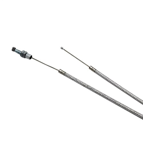 Alconstar- Dirt Bike Dual Throttle Cable Fit For KEIHIN PZ30mm PZ30 PZ 30 Accelerating Accelerate Pump Carburetor Motorcycle