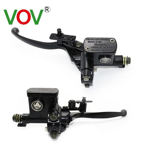 Motorcycle brake Pump Buggy 50-250CC Scooter Universal Cylinder Hydraulic Pump  Clutch Handle Accessories Left Right Brake Lever