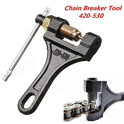 Motorcycle ATV Link Chain Removing Splitter Cutter Breaker Removal Repair Tool 420-530 Motorcycle Chain Accessories Auto Parts