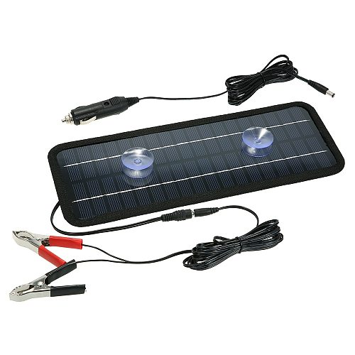 12V 4.5W Car Charger Portable Solar Panel Power Car Boat Battery Charger Backup Outdoor