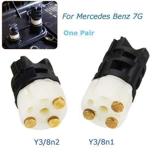 2 Pcs/Set Control Module Sensor 722.9 Y3/8n1 Y3/8n2 for Mercedes Benz 7G Auto Automatic Transmission Solenoid  For Mercedes W212