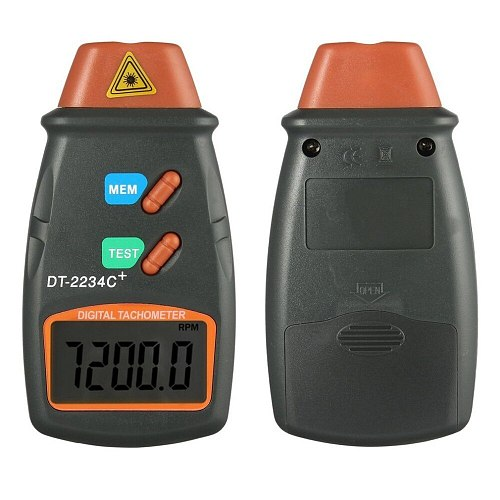 Unversal Digital Laser Tachometer Non Contact RPM Tach Digital Laser Tachometer Speedometer Speed Gauge Engine practical tool