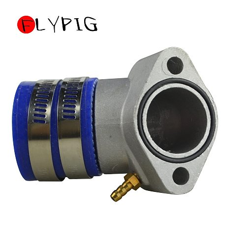 30mm Aluminum Racing Intake Manifold Boot For GY6 125cc - 250cc 4-Stroke QMJ QMI 152/157 Moped engines Scooter ATV and Go Kart