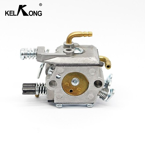 KELKONG New Carburetor Fit For MP16 MP16-7 52cc Chainsaw Carb 2 Stroke Engine 4500 5200 5800 Chainsaw Gasoline Garden Tools tube