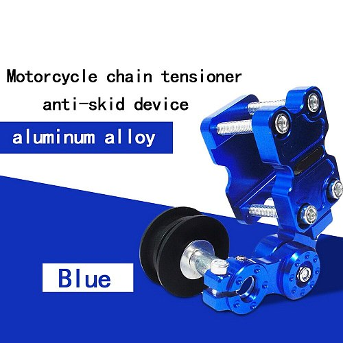 Motorcycle Aluminum Adjuster Chain Tensioner Roller -skid Tensioner Chain Guide Chain Automatic  Tensioner