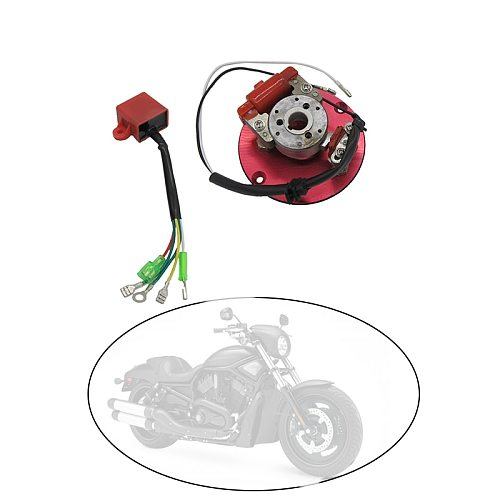 1 Piece High Performance Magneto Coil Inner Rotor Stator Kit 50cc - 125cc Inner Rotor Stator Kit Magneto Coil Engines