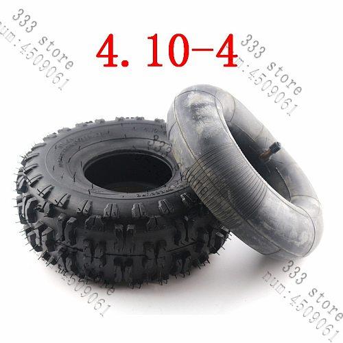 4.10/3.50-4 410/350-4 ATV Quad Go Kart 47cc 49cc Chunky 4.10-4 Tire inner tube Fit All Models 3.50-4 4  tire