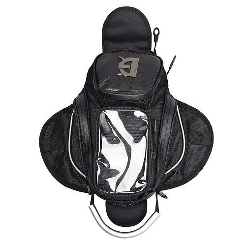 Magnetic Motorcycle Tank Bag Touch Screen Mobile Phone Waterproof Storage Handbag Moto Motorbike Racing Riding Bags