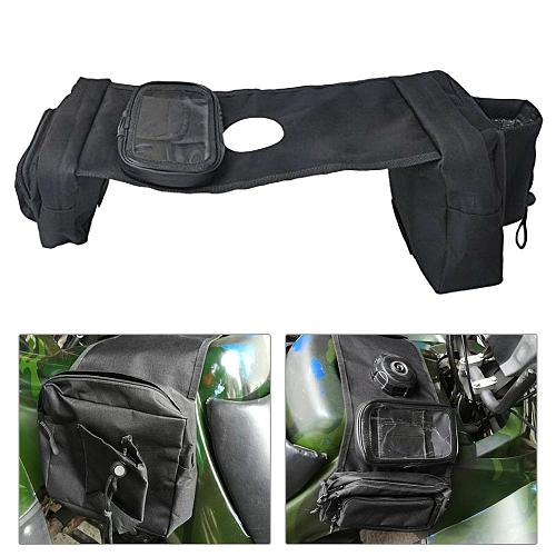 SALE Multi-pocket ATV Fuel Tank Bag Saddlebag Mobile Cup Holder for UTV Yamaha Kawasaki Scooter Wholesale Quick delivery CSV