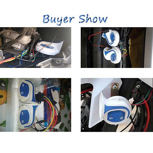 115dB Loud Horn Auto Speaker Alarm 12V Tone Vehicle Boat Car Motor Motorcycle Van Truck Siren Car Horn signal for auto siren