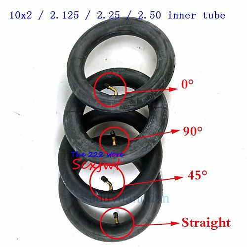 10 inch Inner tube fits for 10x3.0 10x2.50 10x2.25 10x2.125 10X2 10X2.0 wheel tire Electric Scooter Balancing Hoverboard tyre