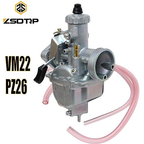 ZSDTRP Mikuni Carburetor VM22 26mm 110cc 125cc Pit Dirt Bike ATV Quad PZ26 Performance Carburetor Part