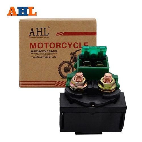 AHL Motorcycle Starter Solenoid Relay For Honda CB500 CX650 CB1000 83 CB700SC NIGHTHAWK S 84-86 CB750 CB750F Super Sport 79-83