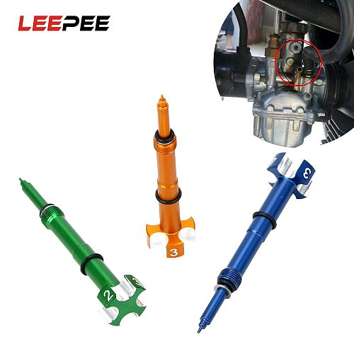 4 Stroke Air Carburetor Fuel Mixture Screw For Motorcycle ATV Dirt Bikes Keihin FCR MX Carbs Carby Motor Fuel Mixture Screw