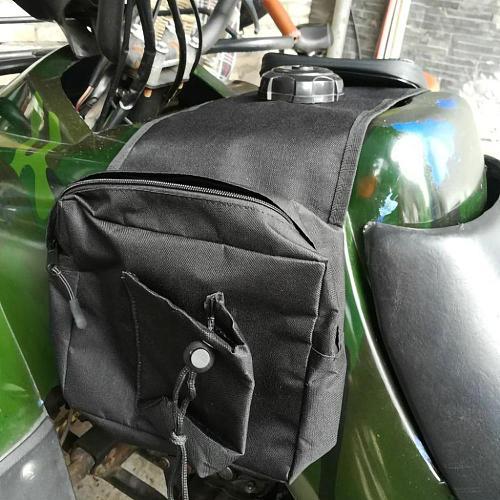 SALE Multi-pocket ATV Fuel Tank Bag Saddlebag Mobile Cup Holder for UTV Yamaha Kawasaki Scooter Wholesale Quick delivery CSV