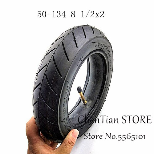 8 1/2x2 (50-134) Inner and Outer Tyres For Electric scooter tyre and INOKIM Night Series Scooter 8.5 Inch Pneumatic Tire 8.5X2.0