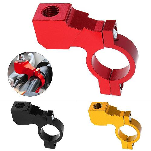 Universal 7/8  Motorcycle Handlebar rear View Mirror Bracket Mount Adapter Holder Clamp CNC Aluminum Mount Brackets Accessories