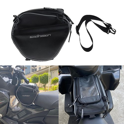 Motorcycle Tank Bags Mobile Phone Navigation Motorbike Oil Tank Bag for TMAX 530 C400X XMAX 300 400 250 C650GT PCX150 AK550 NMAX