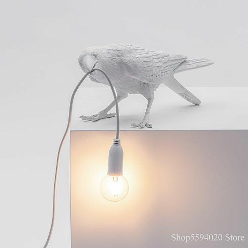Italian Seletti Bird wall Lamp Decorative Home Bird Lamp Bird Wall Lamp Animal Furniture Bird Lights Seletti Bird decor home
