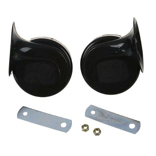 12V 300DB Universal Car Horn Signal for Auto Vehicle Trucks siren Car Horn Black Snail Waterproof Signal Horn Car Accessories L1