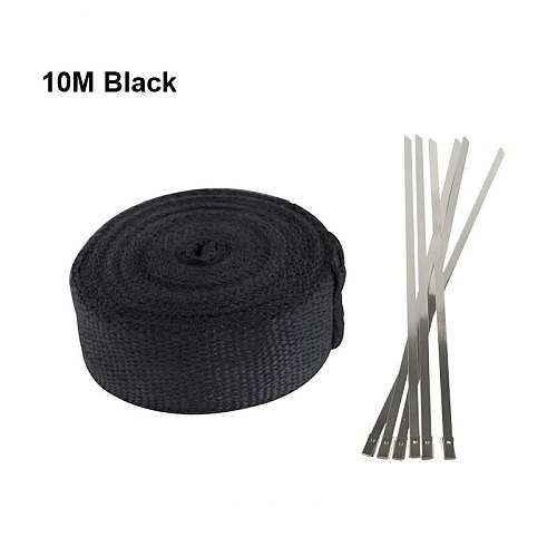 Free Shipping Motorcycle Exhaust Thermal Exhaust Tape Header Heat Wrap Resistant Downpipe For Motorcycle Car Accessories