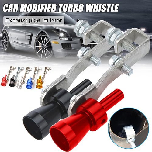 New Hot Multi-Purpose Car Turbo Whistles Exhaust Pipe Sound Maker Car Auto Exhaust Pipe Loud Whistles SMR88