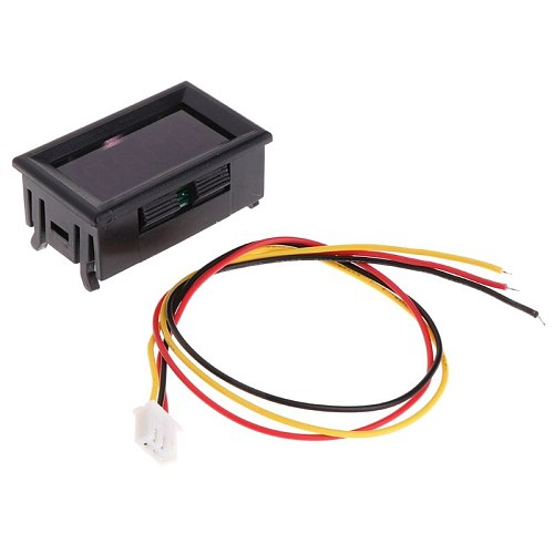 2 in 1 LED Tachometer Gauge Digital RPM Voltmeter for Auto Motor Rotating Speed