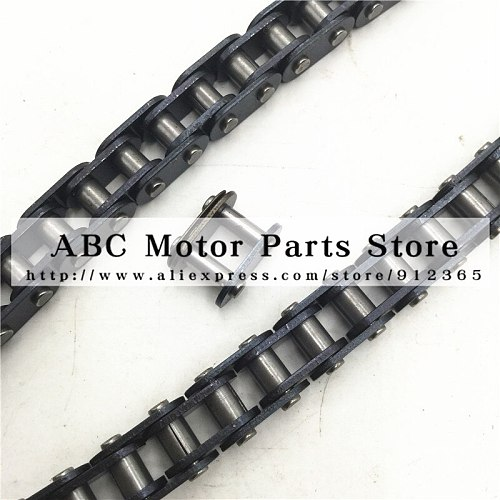 T8F Chain 136 links For 2 Stroke 47cc 49cc Chinese Mini Dirt ATV Quad 4 Wheeler Pocket Bike Minimoto With Spare Master Link