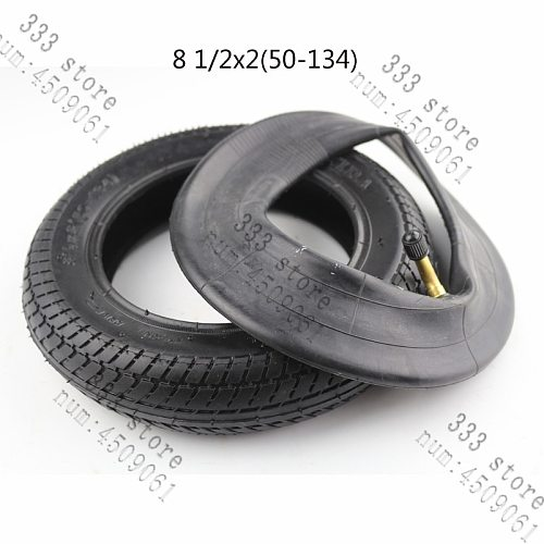 Free shipping 8 1/2X2 (50-134) tyre inner tube  tire and rim wheel for Gas Electric inner tube included 8.5x2 tyre