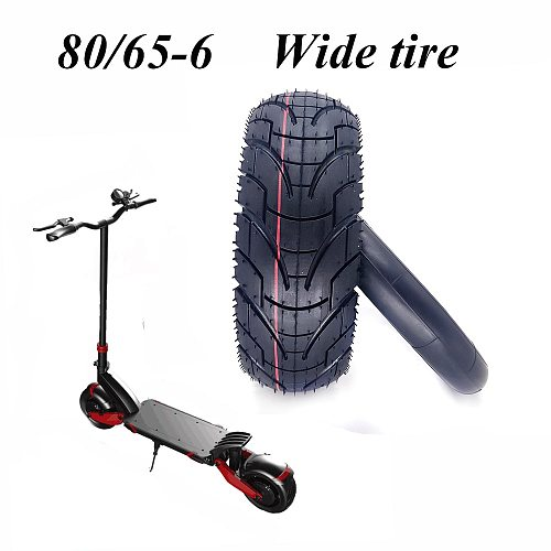 80/65-6 Tire 10x3.0 Tyre Inner Tube for 10 Inch Folding Electric Scooter ZERO 10X Dualtron KUGOO M4 Thickened Widened Tire