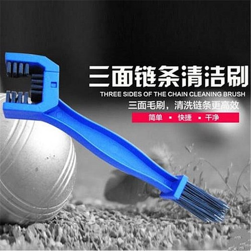 New Cycling Motorcycle Bicycle Chain Clean Brush Gear Grunge Brush Cleaner Outdoor Cleaner Scrubber Tool ARE4