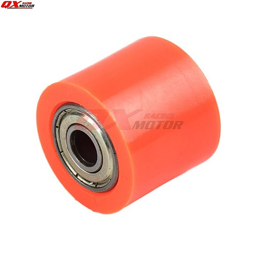 8mm 10mm Drive Chain Roller Pulley Wheel Slider Tensioner Wheel Guide For BSE CRF CR XR Dirt Pit Bike Motocross ATV Motorcycle
