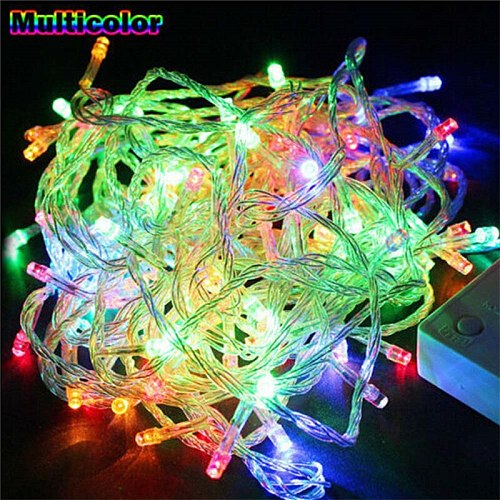 10M 5M 100Led 40Led String Garland Christmas Tree Fairy Light Luce Waterproof Home Garden Party Outdoor Holiday Decoration