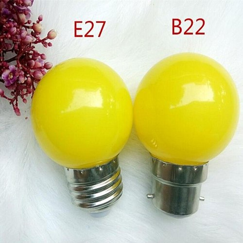 Led Bulb Lamp Bomlillas E27 B22 GU10 E14 Colorful Lampada Ampoule RGB Led Light SMD 2835 220V G45 Globe Bulbs Home Decor lights
