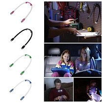 Portable headband with LED reading light variety of lighting work light household lighting accessories for home lamp фонарь