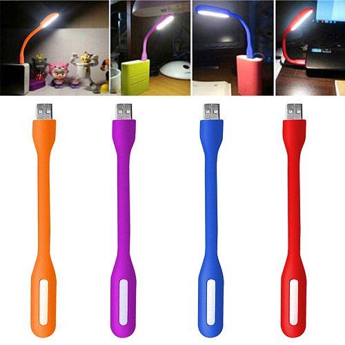 1PCS Flexible USB LED lamp for Computer Keyboard Reading Laptop Notebook