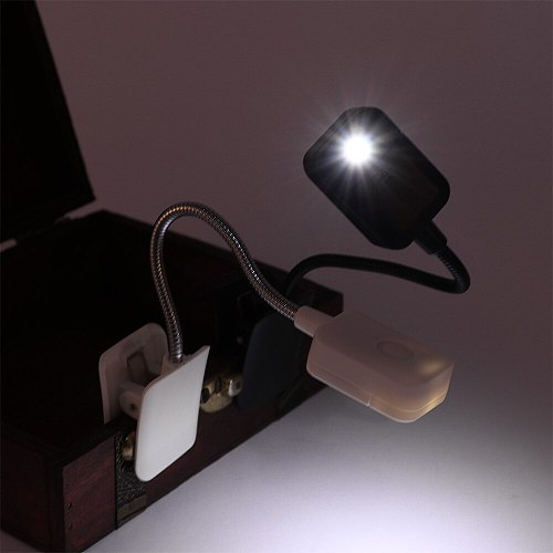 Durable Book LED Reading Light Study Reader Nightlight Desk Table Lamp Phone Tablet E-Reader Lighting Flashlight