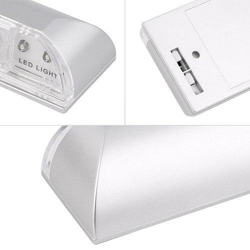 4 LED Auto PIR Sensor LED Light Home Door Wireless Motion Detection Light L9 #2