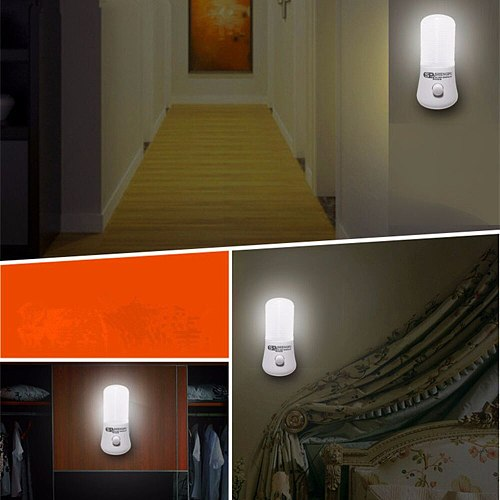 Novelty LED Night Light Wall Socket Bedside Lamp EU/US Plug Home Decoration Lamp For Children Baby Bedroom