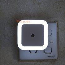 LED Night Light Lamps Light Sensor Control Min 110V 220V Nightlight Lamp For Kids Children Living Room Bedroom Bathroom Lighting