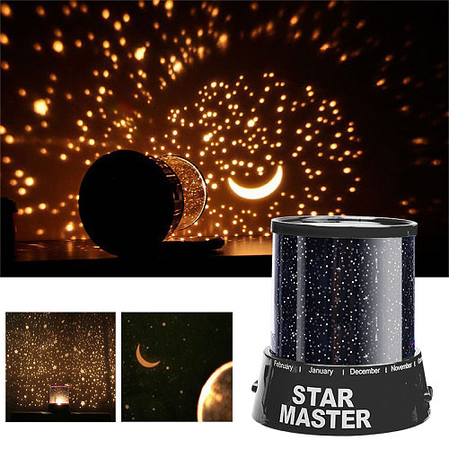 LED Night Light Starry Sky Magic Star Moon Planet Space Projector Lamp Universe Decorative Lamp For Lover Friend Kids Gift