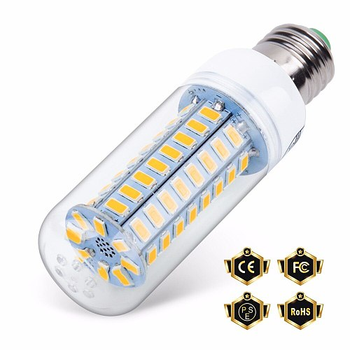 10PCS Ampoule LED E27 220V E14 LED Lamp Corn Bulb SMD5730 Energy saving Lighting home Bombillas LED For indoor Chandelier Candle