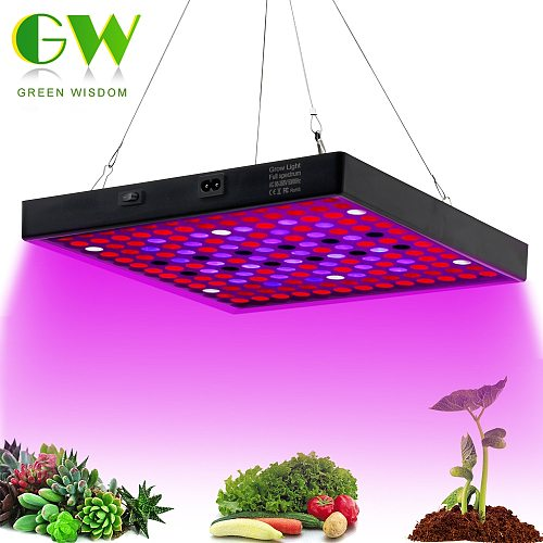 Grow Light Full Spectrum 410-730nm LED Growing Lamps AC85-265V 50W Plant Growth Lighting for Plants Flowers Seedling Cultivation