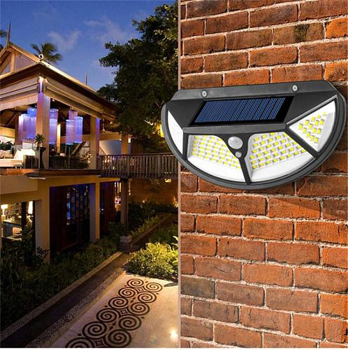 1pcs Solar Lamp Human Induction Wall Lamp Waterproof Outdoor Solar Lights Eco-friendly Pathway Light Solar Garden Light