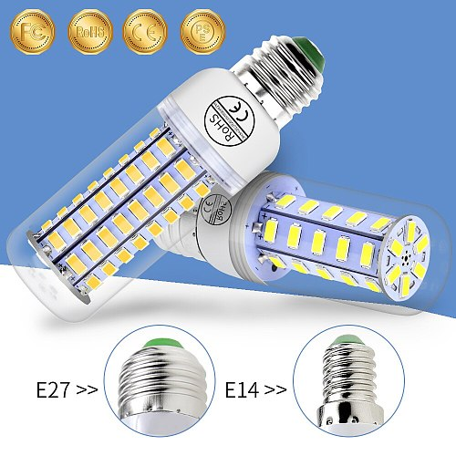 Led E27 Corn Bulb 220V Ampoule GU10 Lampada LED Corn Lamp E14 Candle Light Bulbs 5730 SMD 24 36 48 56 69 72leds Bombillas 3W