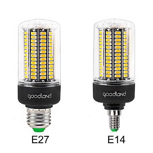 E27 LED Lamp E14 SMD5736 LED Bulb AC 110V 220V LED Corn Light 3.5W 5W 7W 9W 12W 15W 20W Smart IC No Flicker for Living Room