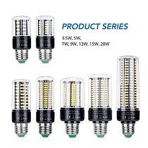 Power LED E27 Corn Bulb LED Lamp 110V Bombillas E14 Home Light Bulb 220V B22 lampada LED Lighting 3.5W 5W 7W 9W 12W 15W 20W 5736