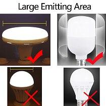 E27 Led Bulb 220V LED Lamp Light Bulbs 15/20/30/40/50W 60W UFO Spotlights Bombillas Ampoule Led Lights for Home Lighting White