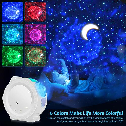 SXZM Smart Starry Projection Lamp Sky Night Light Table Lamp Universe Lamp for Kid Baby Children Bedroom Nursery Gift